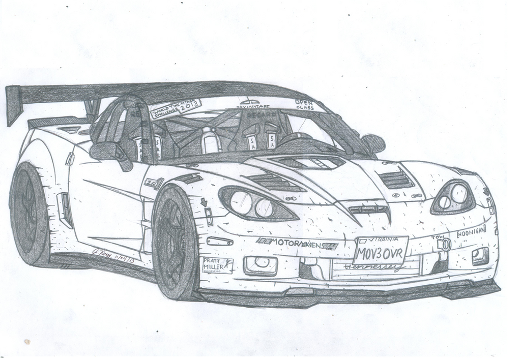 Chevrolet Corvette C6 Zr1 By Jmig3 On Deviantart