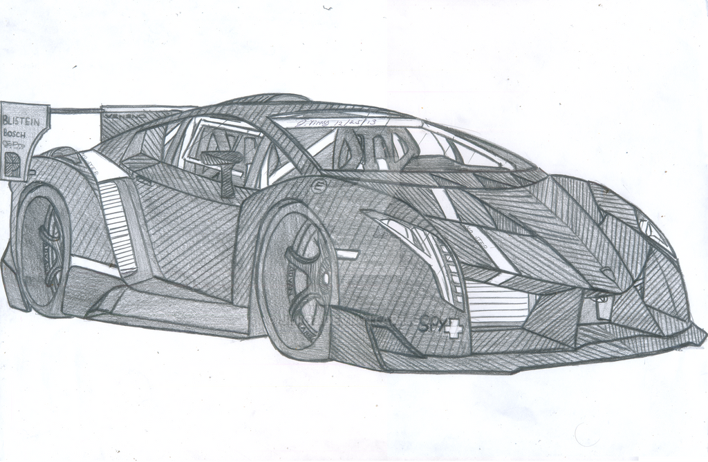 Lamborghini Veneno Superveloce By Jmig3 On Deviantart