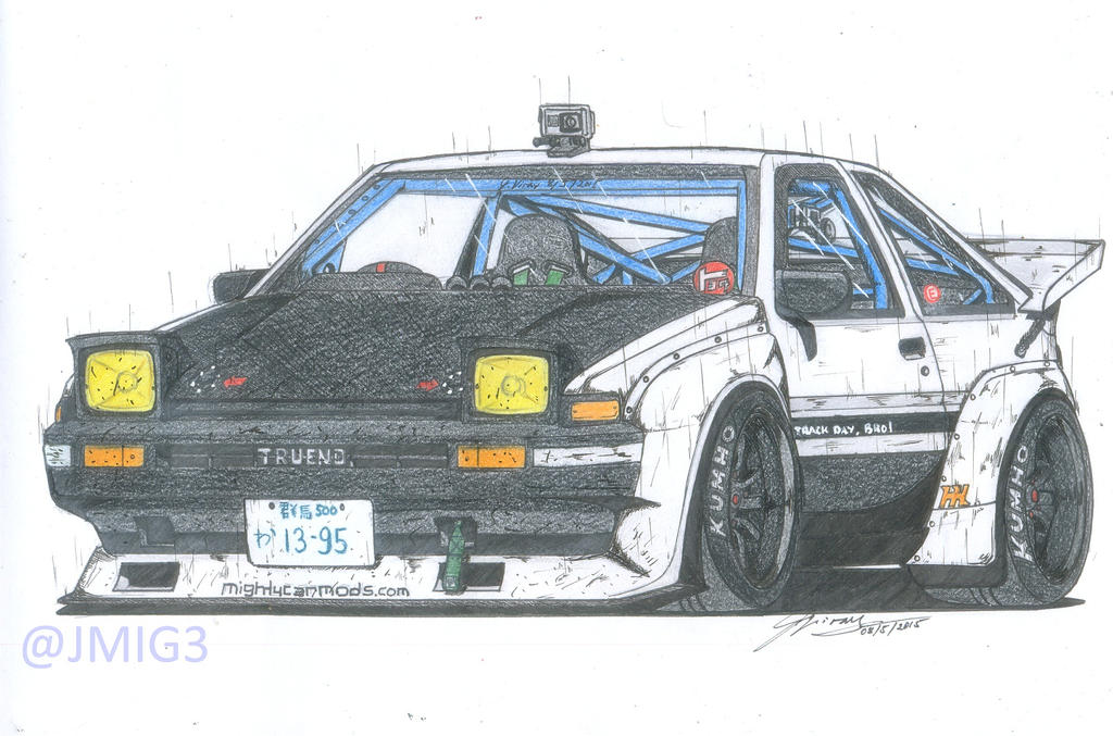 Toyota Sprinter Trueno GT Apex (AE86) by jmig3