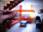 Supplements Whole Sale  namecard mockup