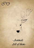 IHeart Animals by KarinMao