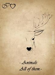IHeart Animals by KarinMao