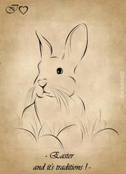IHeart Easter by KarinMao