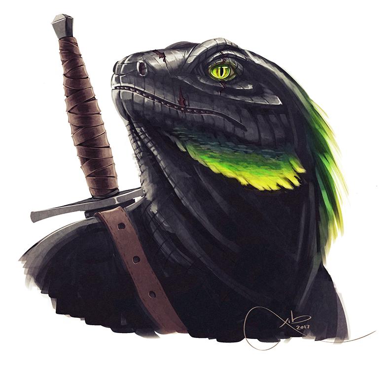 DnD Lizardfolk Design By XibXib On DeviantArt