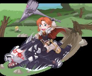 Rider of Ursa by Alex-kellar