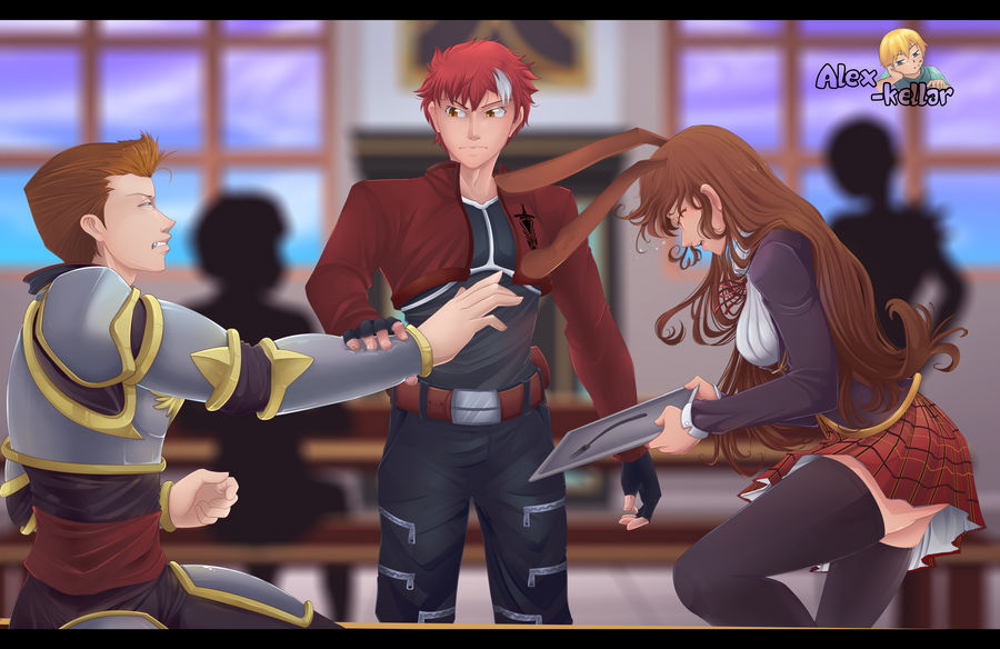 Fate x RWBY) just the right thing to do by Alex-kellar on