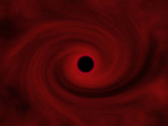 Red Black hole by Lestaril