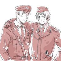 Germany, Prussia in uniforms by desadevil