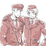 Germany, Prussia in uniforms