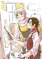 Painting - RoChu style
