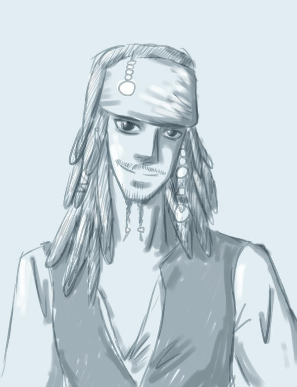 Jack Sparrow by forgotten-light