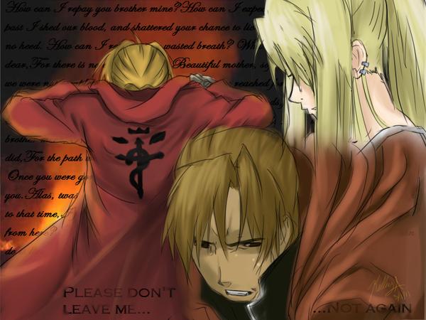 Please Don't leave... by kawaii-oekaki-chan