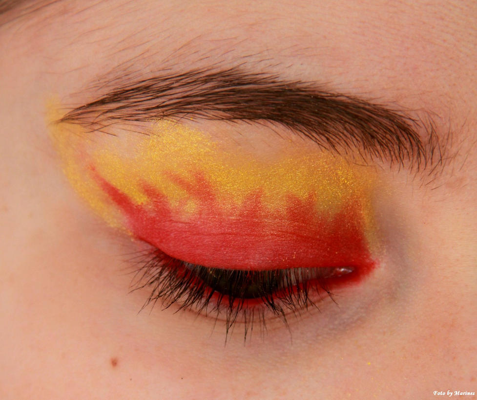 Makeup Ideas fire makeup : ... makeup fire fairy makeup fire makeup artistry fire flames makeup fire