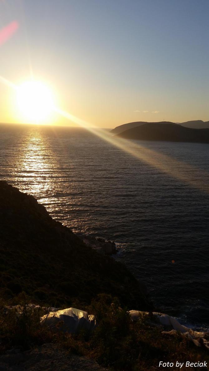 Sunset on the island by EamyCross