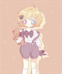 [C] Teddy Bear by luupon