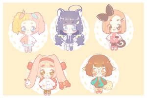[Adoptables] Plushies by luupon