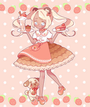 [C] Strawberry Cafe by luupon