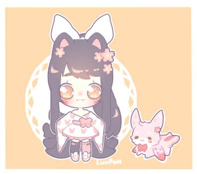 [Custom] Pink Bunny by luupon