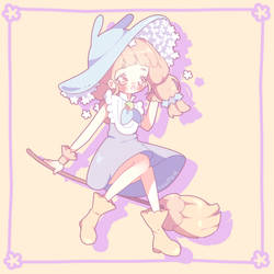 Spring Witch by luupon