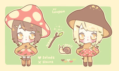 AUCTION Mushroom Witch OPEN by luupon