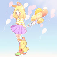 [C] Balloon sky