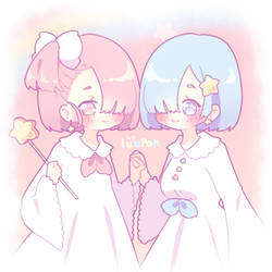 Little Twin Ram and Rem (preview)