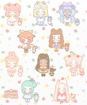 [Adoptables] Animal Crossing