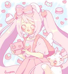 [C] Pink overdose