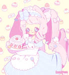 [C] Heart Shaped Cake