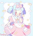 [C] Kitty Skirt