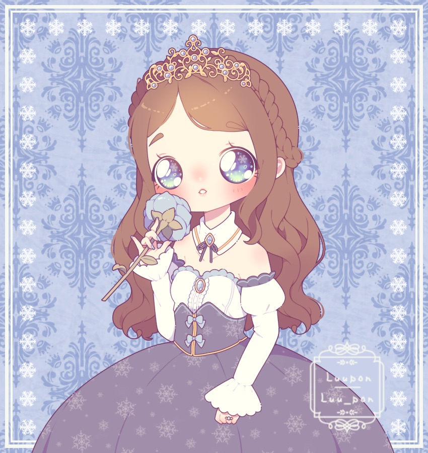 [C] Blue Rose