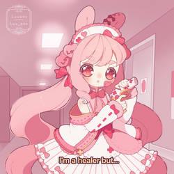 [C] I'm a healer but...