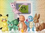 Pokemon-25th Anniversary