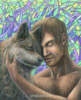 Wolf Brothers by lukaszi-art