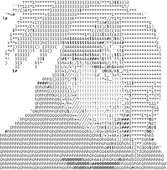 Deidara in ASCII by Lithium-deviant
