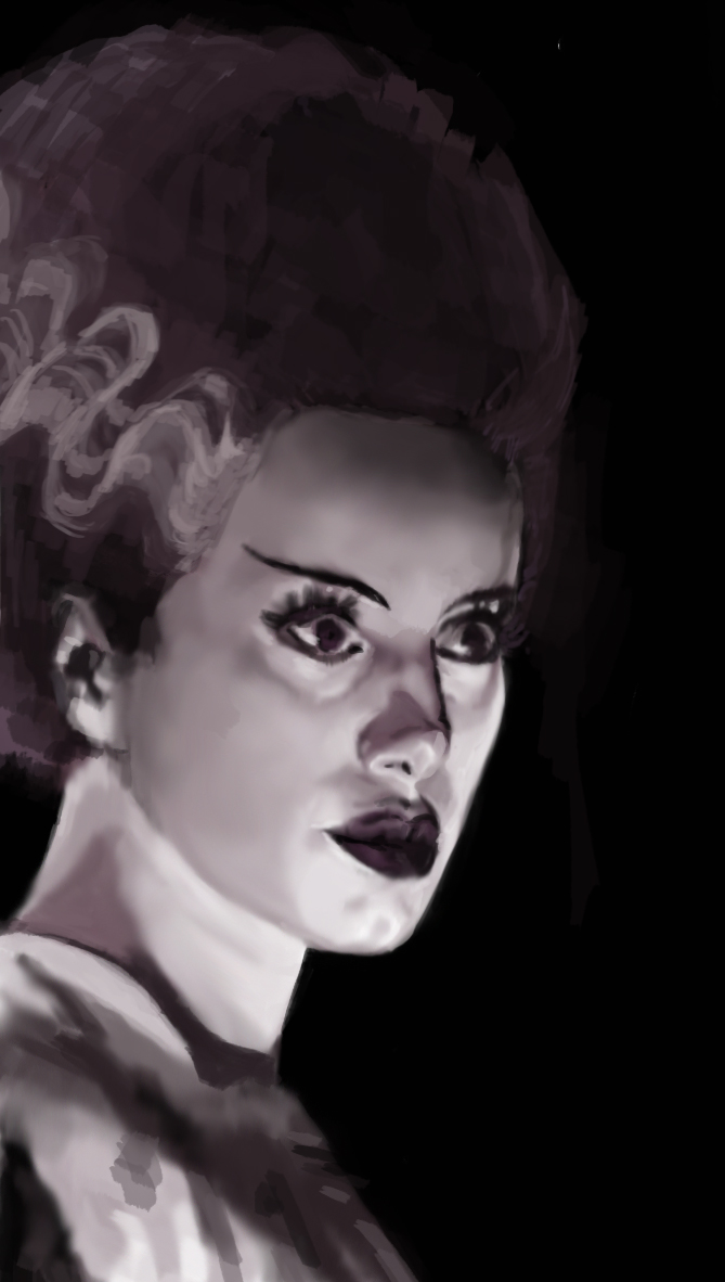 bride of frankenstein by rachelralston on deviantart