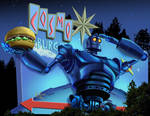The Iron Giant burger pitch