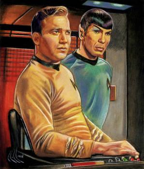 Star Trek original Kirk Spock