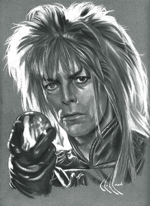 David Bowie as Jareth by choffman36