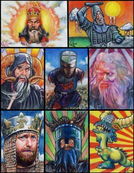 Monty Python Grail sketch card