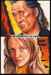 Kill Bill sketch cards