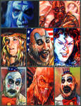 House 1000 Corpses sketch card