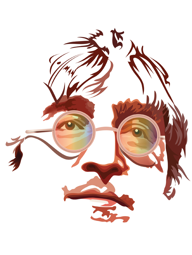 Lennon vector quickie by choffman36
