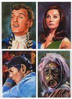 Star Trek sketch cards 1 by choffman36