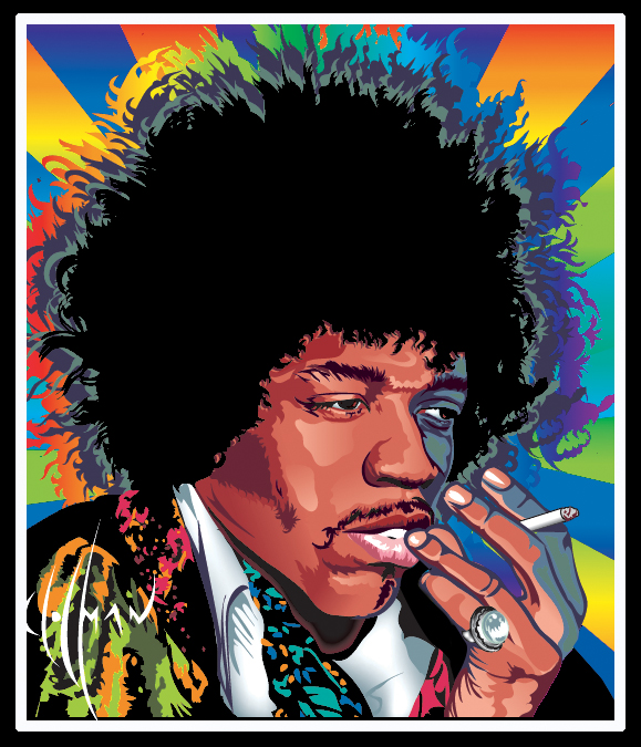 Hendrix vector 2 by choffman36