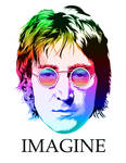 John Lennon vector two