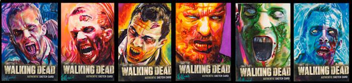 walking dead season two walkers by choffman36