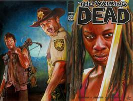 Walking Dead 109 variant sketch cover