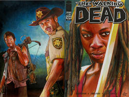 Walking Dead 109 variant sketch cover
