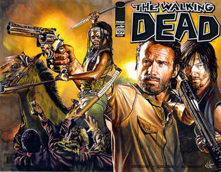 Walking dead 109 4th comic